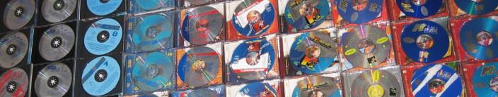 MTV cd'<p><p>s naast elkaar