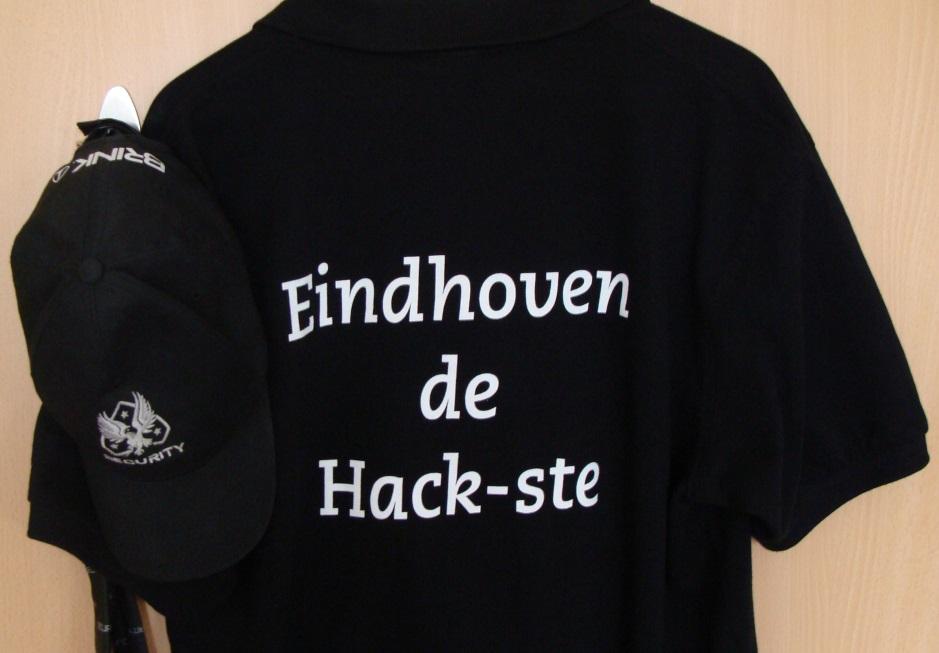 Aandenken vanuit de gemeente: Shirt met Eindhoven de Hack-ste.